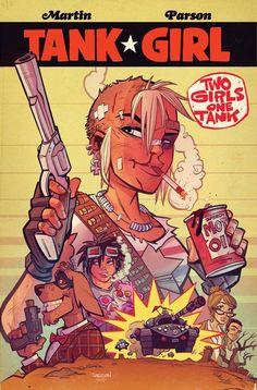 Tank Girl: 2 Girls 1 Tank #1, CVR B