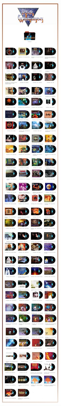 Album Art Icons: Rick Wakeman