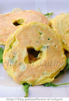 Ciambelle di zucchine e patate sfiziose in padella vickyart arte in cucina