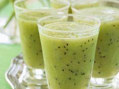 Kiwi-Birnen-Smoothie mit Melone