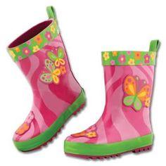 Stephen Joseph Girls 2-6X Rain Boot