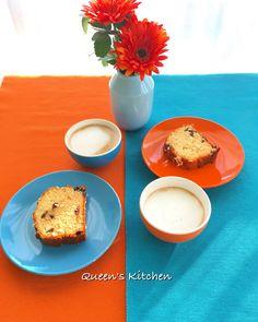 #buongiorno iniziamo bene la settimana con un bel #cappuccino freddo e una fetta di #torta 😊🍶🍪☀️🙅🏼 {http://www.queenskitchen.it/ciambellone-al-doppio-cioccolato} #queensbreakfast #color