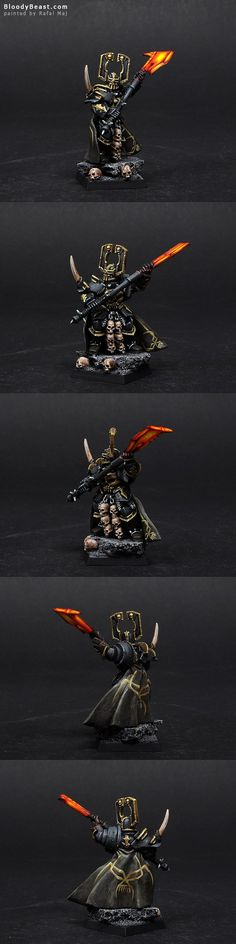 Chaos Lord of Khorne   miniature for #Warhammer Fantasy Battles... I'm having a nerdgasm right now