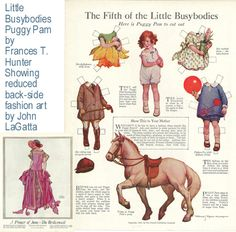 Sugg-1923 Little Busybodies #5, Puggy Pam