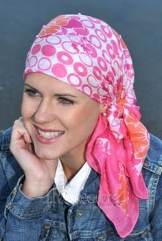 Scarves for Women with Cancer | Hats, turbans and wigs for hair loss. For cancer, chemotherapy ...