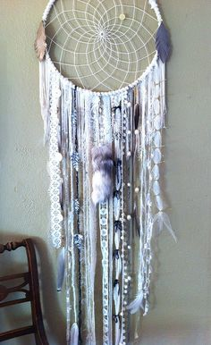 dream catcher by rachael rice, via Flickr  - very intricate  awesome.  I would love to know how to make one of these.