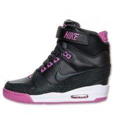 Soldes Nike Air Revolution Sky Hi Baskets Compensées Femme Code de Style   599410 009 Rose fa9705cebe8