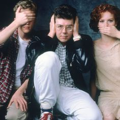 John Hughes, Molly Ringwald, Anthony Michael Hall