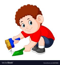 Boy with the curly hair clean up the dust Vector Image Preschool Rules, Preschool Writing, Clipart, School Frame, What Is Digital, Water Drawing, School Decorations, Lessons For Kids, Kids Education