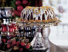 Winter Jewel Fruitcake with White Icing