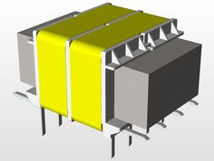 Mini trafo - SOLIDWORKS - 3D CAD model - GrabCAD
