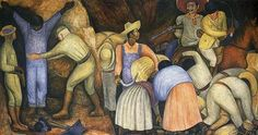 The Exploiters - Diego Rivera, 1926