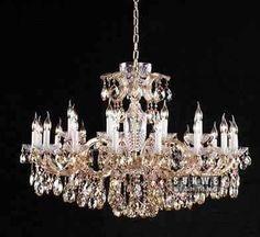 Elegant chrome crystal chandelier fixture 24 lights hanging candle living room chandelier light C9174 120cm W x80cm H