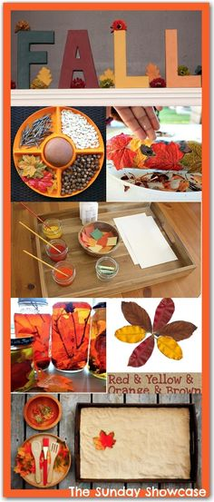 Fall activities for children: Reading, sensory play, crafts and more!