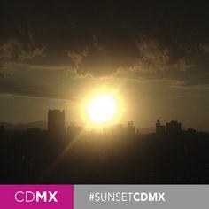 #CDMX #Sunset #SkylineCDMX #SightseeingCDMX