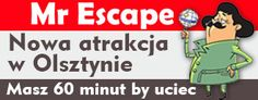 New business directory listing - Mr Escape - http://engdex.pl/bd/mr-escape/ - It is a form of active spending time with friends and family, game full of action, which, along with his team (2-5 people) in 60 minutes you need to leave room full of riddles and puzzles.