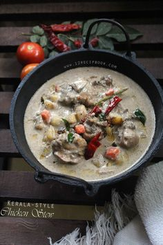 Kerala Style Chicken Stew - Recipe Book