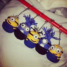 Schlüsselanhänger Minions & Böse Minions
