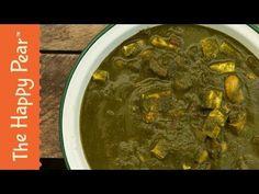 "Vegan Palak "" Paneer ""   Indian Spinach Curry - YouTube"