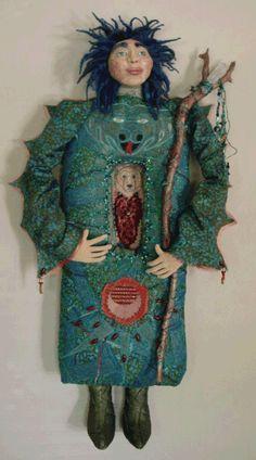 Merlin, Healing Doll Barb Kobe