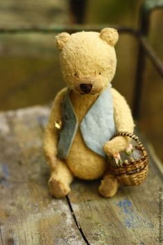Винни Пух. Тедди ручной работы. Handmade.