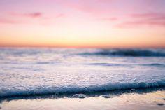 Sunset Photo- Summer Beach Photography- California Coastal Photograph via Etsy