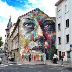 street art, mural, david walker, nancy, france
