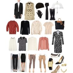 Chic Basics Work Wardrobe Capsule