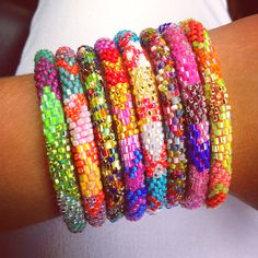 Lily and Laura Bracelets! I'm obsessed.