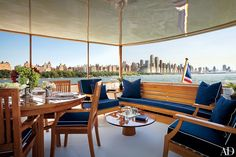 Fourteen of the Most Luxurious Yacht Decks Photos | Architectural Digest
