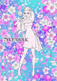 #Shopping #DigitalStamp #Shopaholic #Digi Time by Silvercrystalscouk