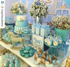 Clare and Carlos' blue and yellow lakeside wedding is featured in Orlando Magazine. Baby Shower Fun, Baby Shower Parties, Baby Shower Themes, Baby Birthday, Birthday Parties, Carousel Party, Lakeside Wedding, Wedding Reception, Rustic Wedding