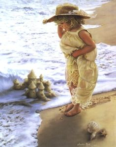 """""""Serenity"""" by Sandra Kuck - I have this plaque, and it was purchased in Oak…"""