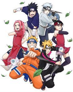 team 7 and team konahomaru