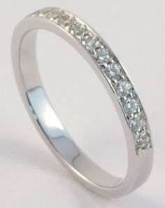 The Wedding Band Shop – Wedding Rings Dublin Ireland: Half Eternity Diamond Wedding Band