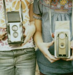 Old fashioned camera. The are never reliable in terms of quality, but occasionally, you get the best photos.