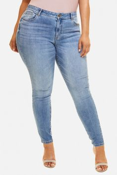 70f1ac84a802 Plus Size Jeans and Denim for Women