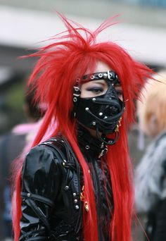 Visual Kei - Die (Dir en Grey cosplay)
