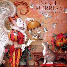 Daniel Merriam - The Land of Dreams...love collecting his note cards and art!
