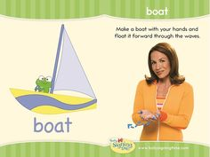 Learn Sign Language » Sign of the Week – Boat