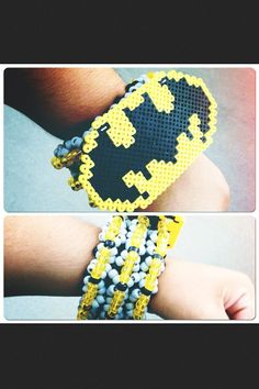 #kandi #epic #batman I just got all the colors to make this!! :D hopefully I get the time to