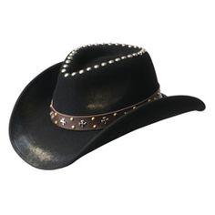 8d8d6e3a1 Millard - Shapeable Soft Wool Cowboy Hat
