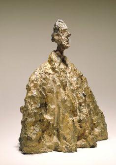 "Bronze sculpture ""Diego in a Cloak"" by Alberto Giacometti (1901-1966), 1951"