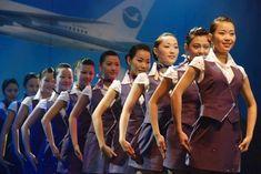 【China】 Xiamen Airlines cabin crew (old uniform) / 厦門航空 客室乗務員 旧制服 【中国】 Cabin Crew