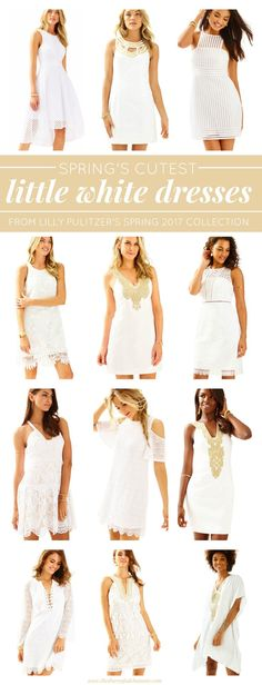 d49ab81a91 Cute Little White Dresses for Spring from Lilly Pulitzer