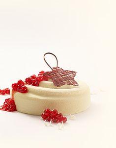 Callebaut - White chocolate and redcurrant cheesecake