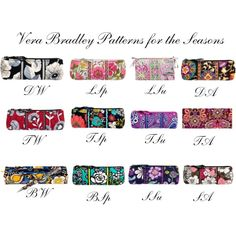 """""""Vera Bradley for the Seasons"""" by mpsakatrixie on Polyvore"""