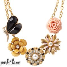 """Facebook contest for 12/10/12. Park Lane will be randomly selecting at least 5 winners throughout the day until 5pm central to receive a fabulous jewelry sample prize!!!! """"Like"""" & """"Share"""" the """"Madame Butterfly Necklace"""" Official Park Lane POST on the Jewels by Park Lane Inc. Page to be entered!"""