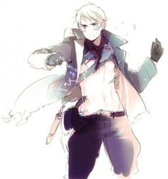 Prussia is HANDSOME. *nosebleed*