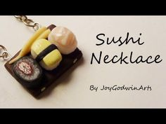 how to: mini sushi necklace